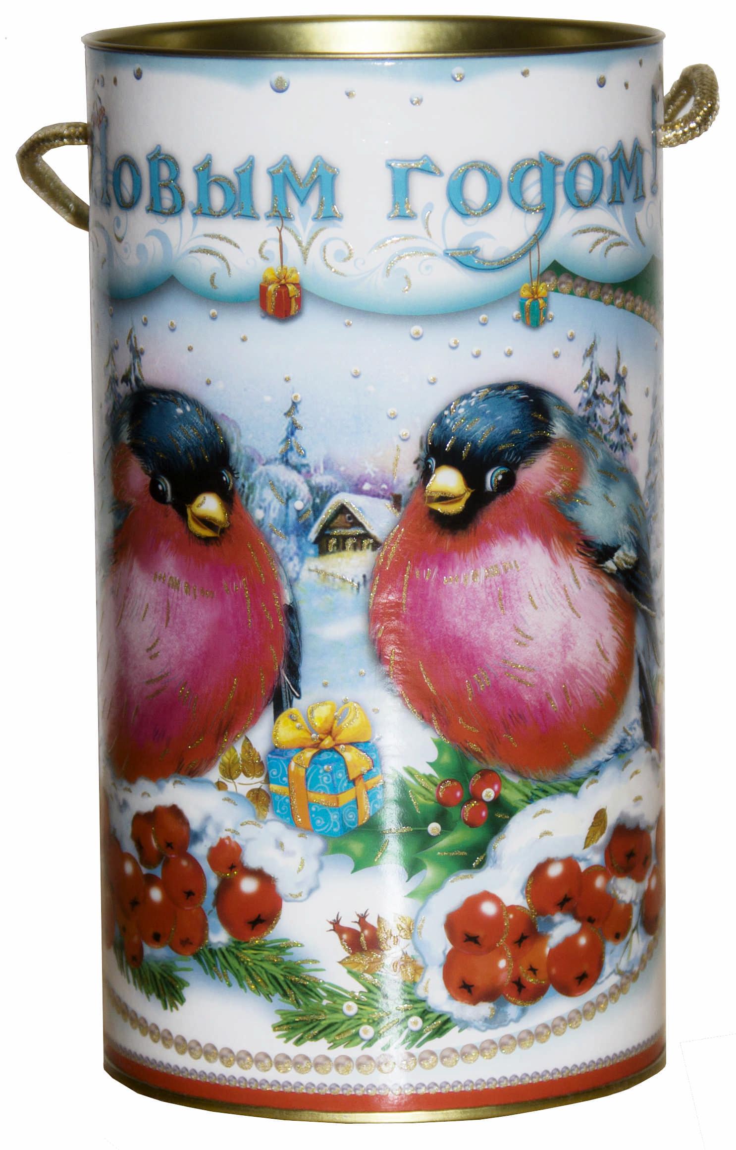 Новогодние подарки снегири 98