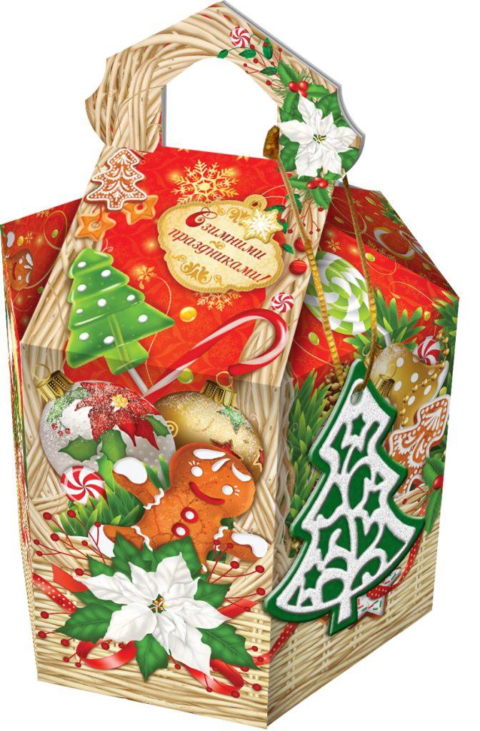 Новогодняя игрушка упаковка для новогодних подарков 591
